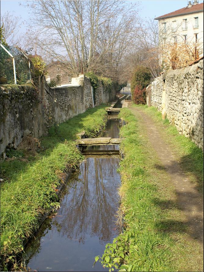 Balade au fil de l'eau: canal de la Martinette