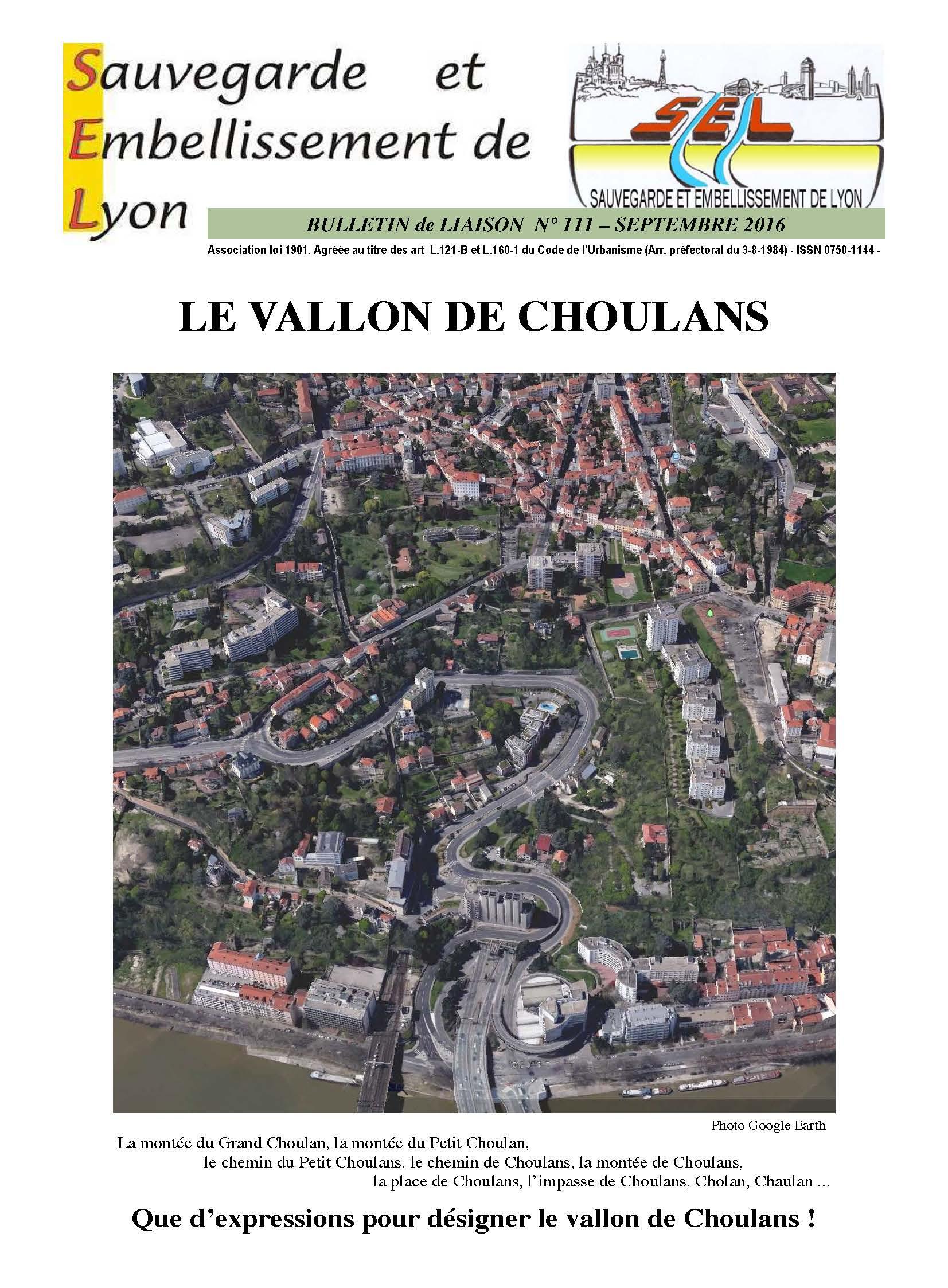 Le vallon de Choulans