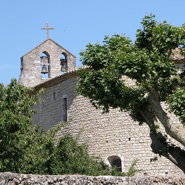 Eglise de Saint-Maurice-d'Ibie (07)